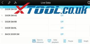 Xtool A30 Test 2007 Nissan Micra C+c 13