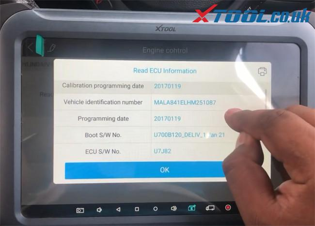 Xtool A80 Pro Hyundai I20 Pb 2016 Injector Code 13