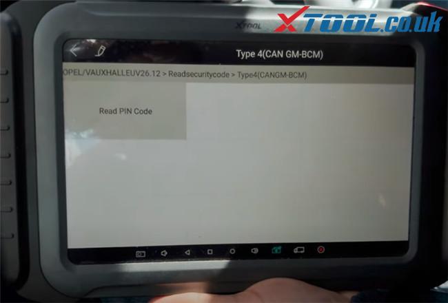 Xtool A80 Pro Program 2015 Vauxhall Adam 10