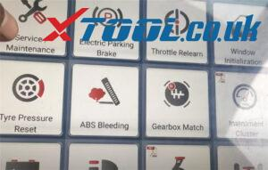 Xtool A80 Pro Reset Service Vw Jetta 3