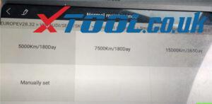 Xtool A80 Pro Reset Service Vw Jetta 6