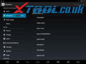 Xtool Ps90 Bluetooth Connection 07