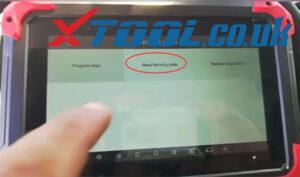 Xtool X100 Pad Read Pin Code Peugeot 1