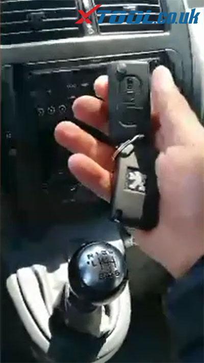 Xtool X100 Pad Read Pin Code Peugeot 4