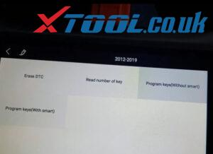 Xtool X100 Pad3 Program Chevy Cruze Akl 1