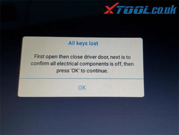 Xtool X100 Pad3 Program Chevy Cruze Akl 4