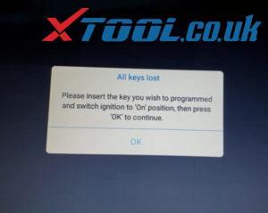 Xtool X100 Pad3 Program Chevy Cruze Akl 5