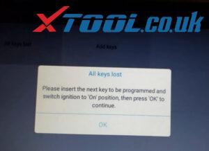 Xtool X100 Pad3 Program Chevy Cruze Akl 8
