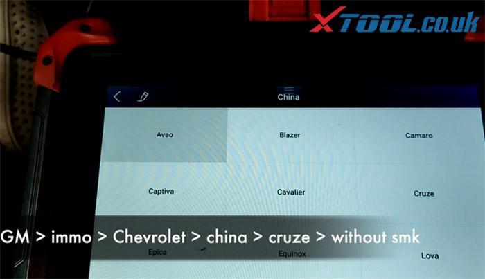 X100 Pad Program 2016 Chevy Cruze 2