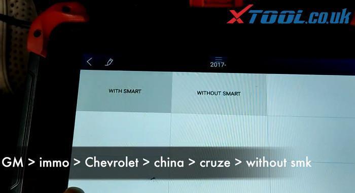 X100 Pad Program 2016 Chevy Cruze 3