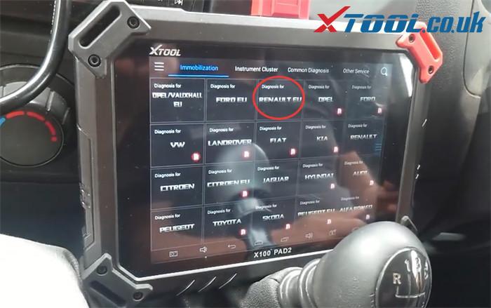 X100 Pad2 Pro Program 2015 Vauxhall Movano 2