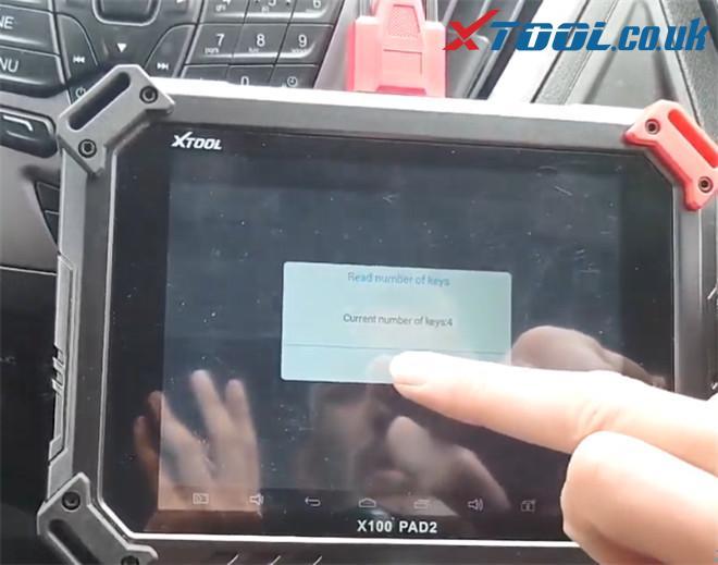 X100 Pad2 Pro Program Ford Transit Custom 2014 5