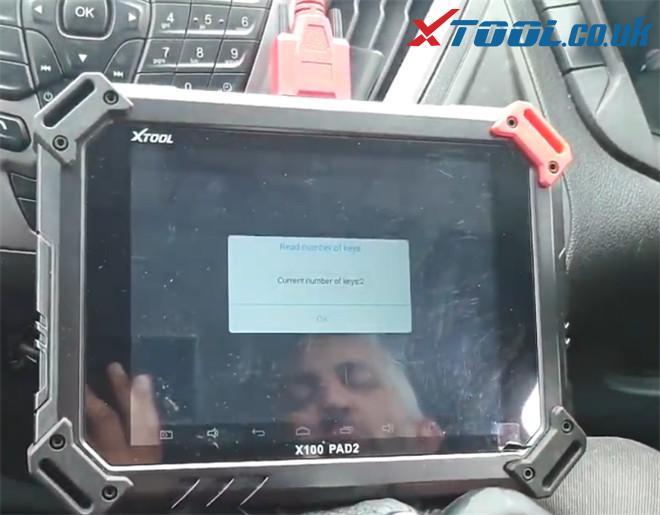 X100 Pad2 Pro Program Ford Transit Custom 2014 7