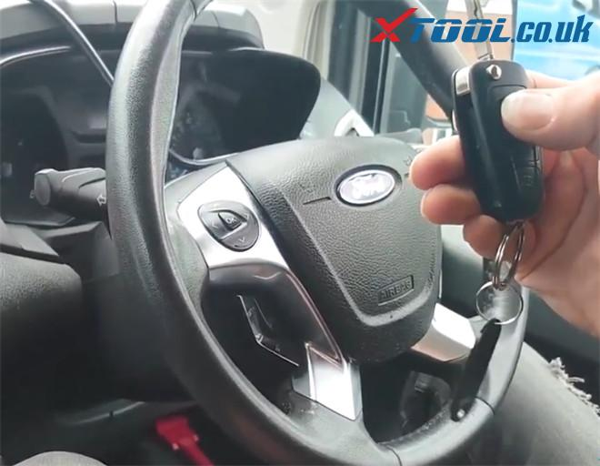 X100 Pad2 Pro Program Ford Transit Custom 2014 8