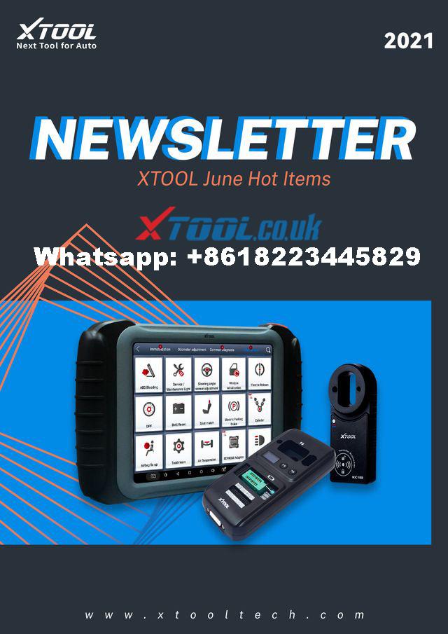 XTOOL Key Programming Update 202106 1