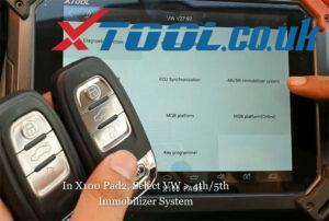 X100 Pad2 Pro Program Audi Q5 2