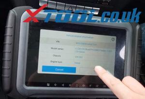 Xtool A80 Pro Test Eis 2013 Benz C220 W204 1
