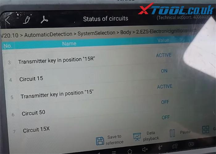 Xtool A80 Pro Test Eis 2013 Benz C220 W204 8
