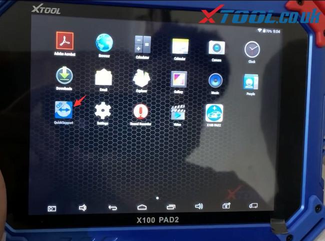 Xtool Tablet Series Teamviewer App Update 1