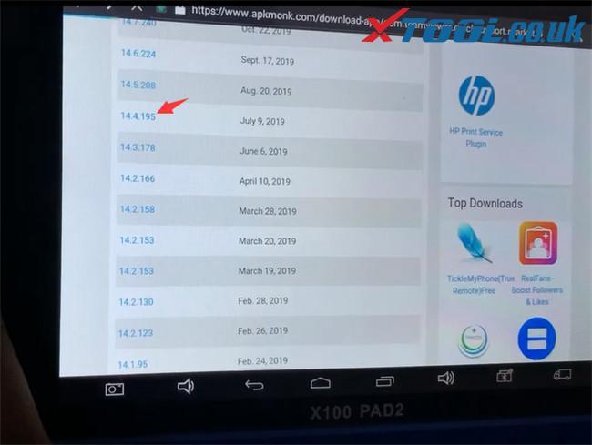 Xtool Tablet Series Teamviewer App Update 6