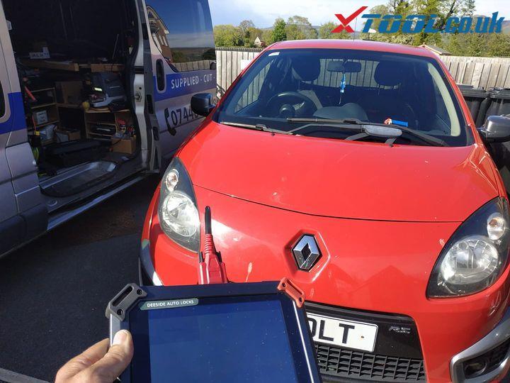 Renault Twingo All Keys Lost