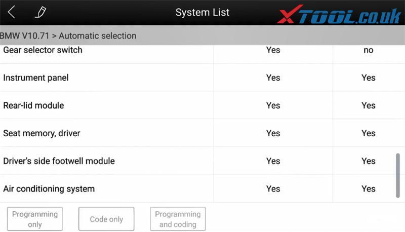 Xtool A80 Pro Bmw Online Ecu Program 5
