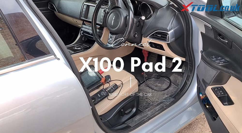 Xtool X100 Pad2 Program New Jaguar Landrover 2014 Smart Key 09