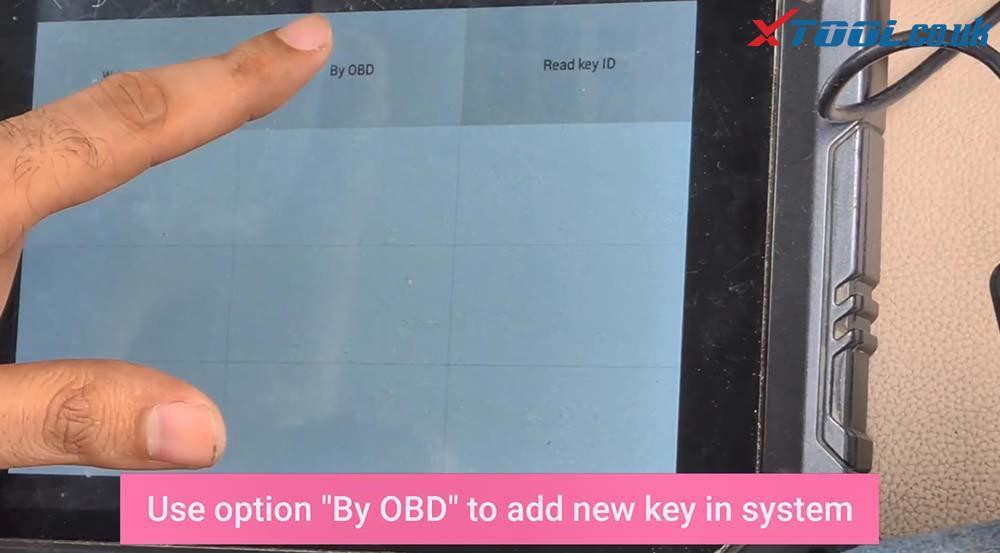 Xtool X100 Pad2 Program New Jaguar Landrover 2014 Smart Key 15