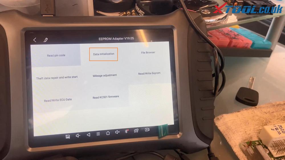 Xtool X100 Pad3 Se Reflash Toyota Lexus Ic900 93c56 Data 14