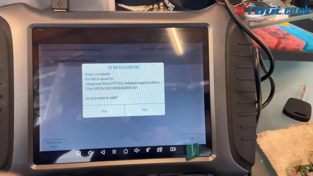 Xtool X100 Pad3 Se Reflash Toyota Lexus Ic900 93c56 Data 23