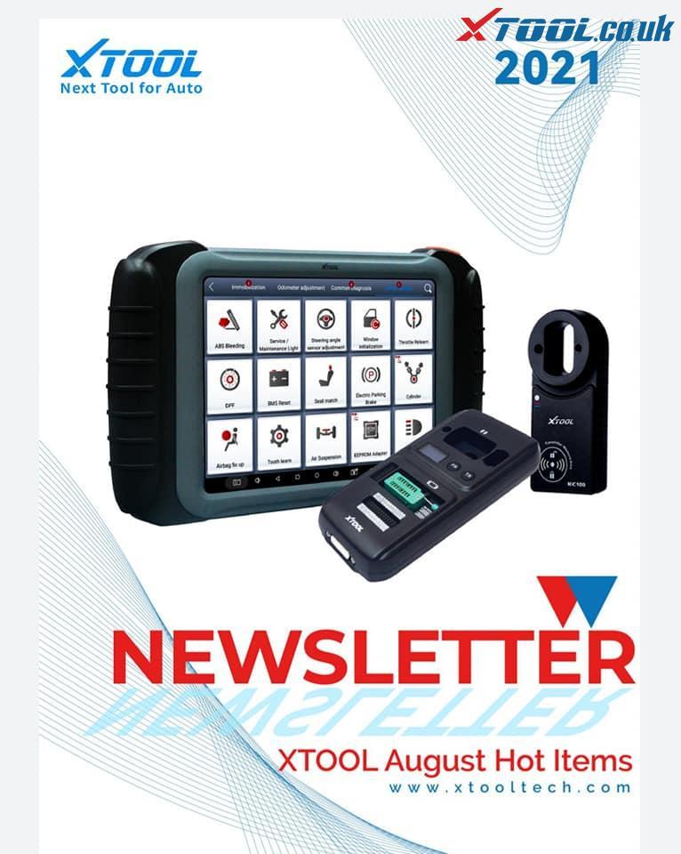 Xtool August Update Log 01