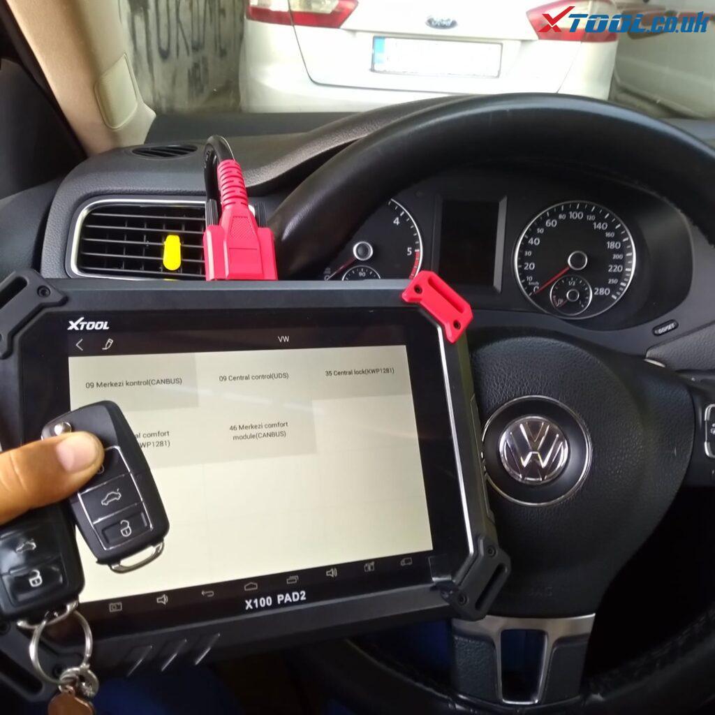 Xtool X100 Pad2 2012 Volkswagen Jetta Remote Control 01