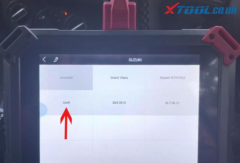 Swift 2021 Odometer Xtool X100 Pad2 (3)