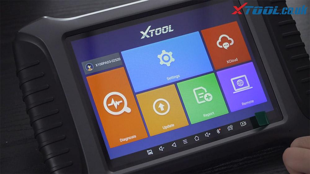 Xtool X100 Pad3 Se Register Activate 06